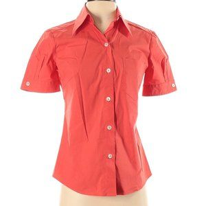 Trina Turk Short-sleeve Button-down Blouse NWT